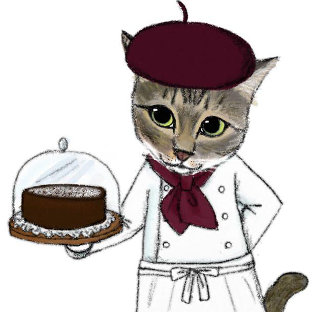 猫のあんこ焼き菓子店